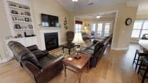 family room -ocean ridge plantation real estate