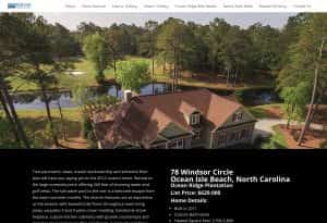 Ocean Ridge Plantation real estate marketing